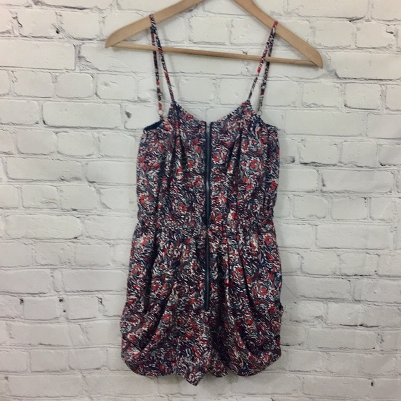 BCBGeneration Other - 2/$10BcBGenerarion Printed Romper with Pockets EUC